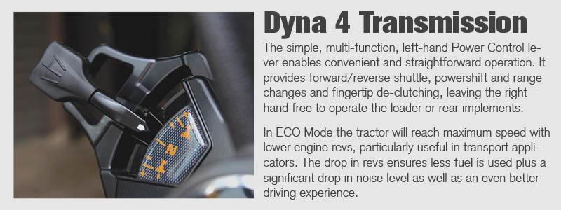 MF6600 Dyna 4 Transmission