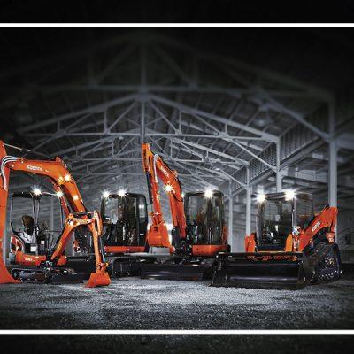 Kubota Excavators & Loaders