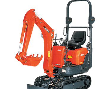 K008 - 0.8 tonne excavators