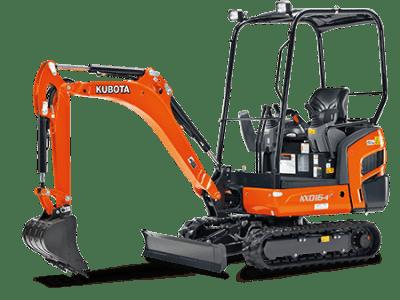 KX016 - 1.5 tonne excavators