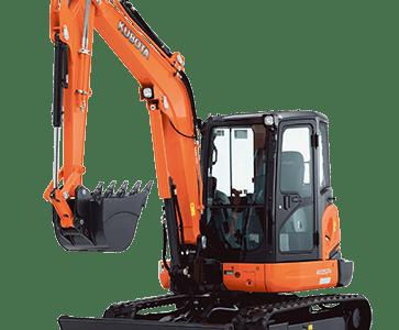 KX057 - 5.4 tonne excavators
