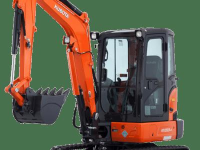 KX033 - 3 tonne excavators
