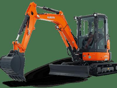 U35 - 3.6 tonne excavators
