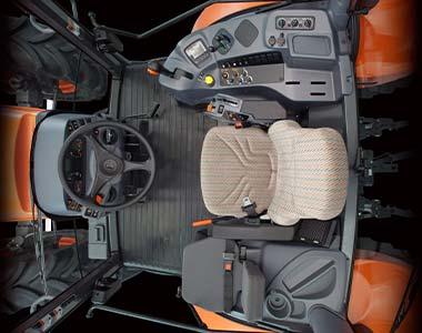 MGX interior cab layout