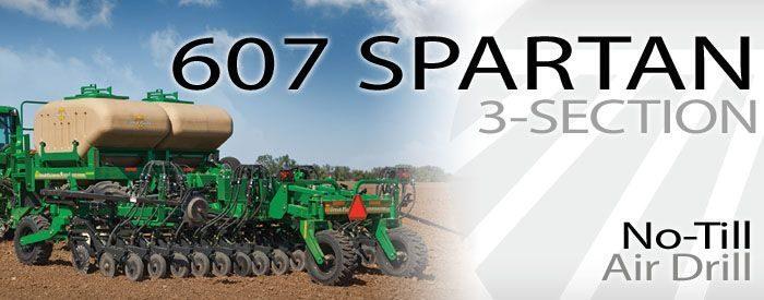 Great Plains Spartan air drill