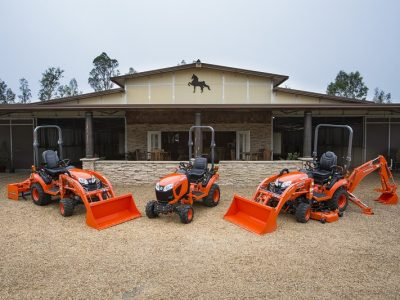 Kubota BX series model lineup compact tractor