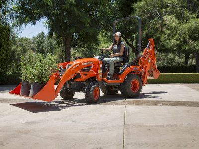 Kubota compact tractor with loader BX