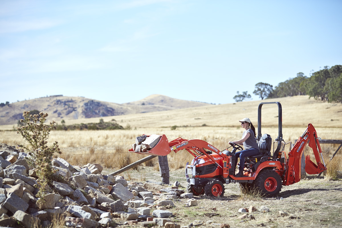 BX Series small compact kubota tractor