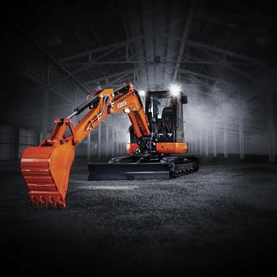 Kubota U Series Zero Swing mini excavators