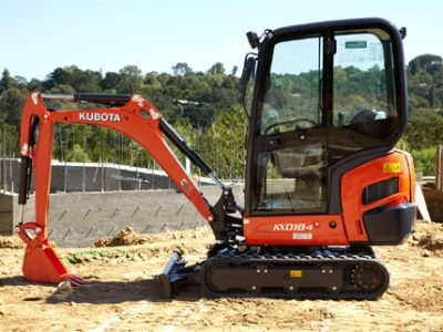 Mini excavator kubota small