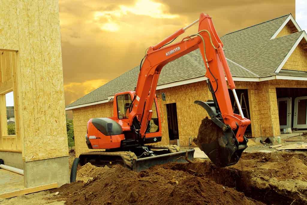 KX080 Kubota KX Excavator Digging Construction Industry