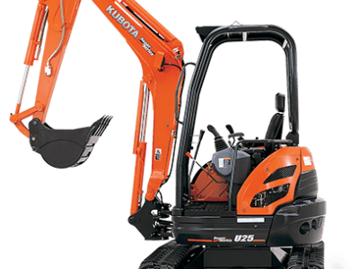 Kubota mini excavator digger U25