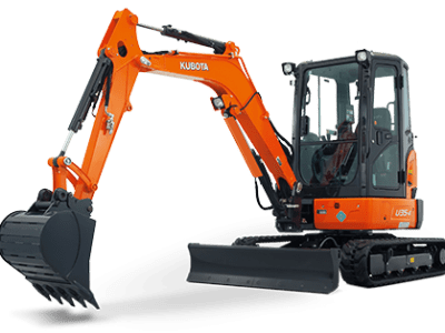 Kubota mini excavator digger U35
