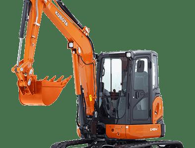 Kubota mini excavator digger U48