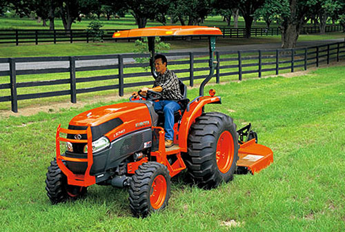 Kubota L40 series grand mowing
