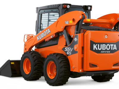 Kubota compact wheel loader SSV65