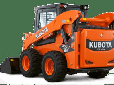 Kubota compact wheel loader SSV65