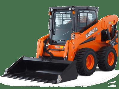 Kubota compact wheel loader SSV75