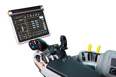 M7 Premium tractor console