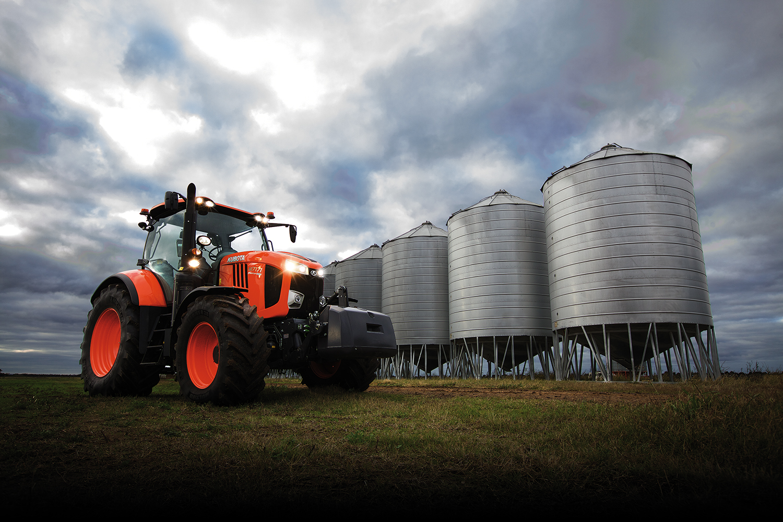 M7 large Kubota tractor