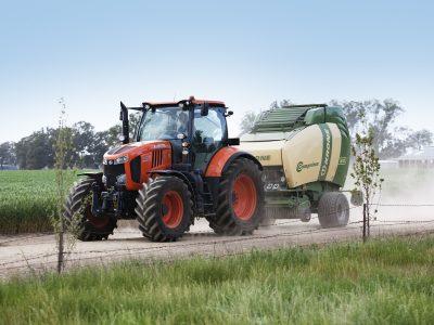 M7 premium tractor high horse power and krone baler