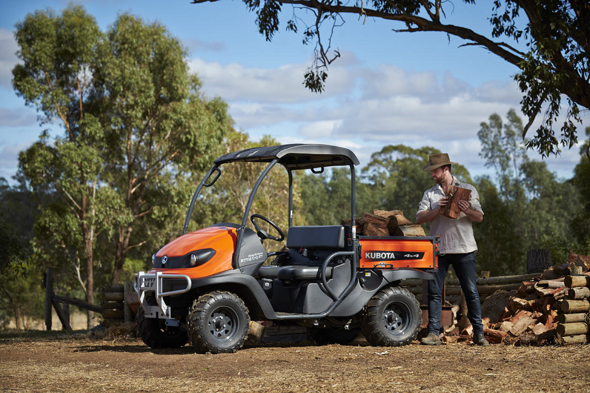 Kubota RTV petrol utility vehicle