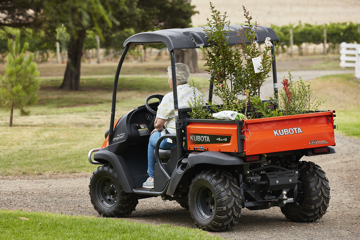 Kubota RTV 400 petrol utility vehicle