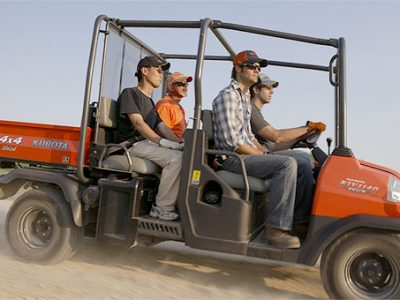 RTV Diesel Series Utility vehicle four passanger