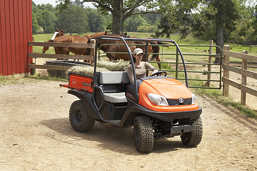 Kubota RTV 500 utility vehicle petrol model