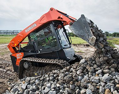 Kubota mini svl high spec machine