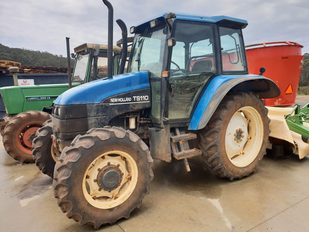 Used New Holland TS100 Tractor