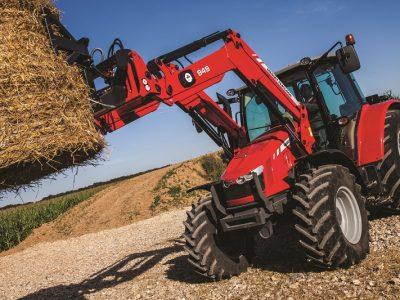 Massey Ferguson loader tractor 5600