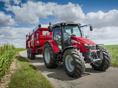 Massey 5713 tractor
