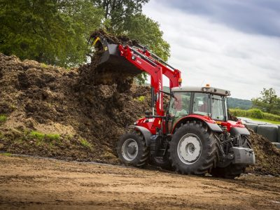 5700 SL series tractor with loader