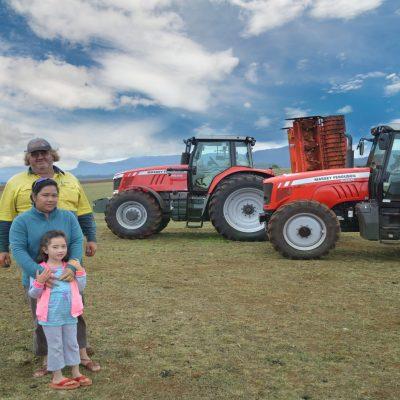 Geoffrey Johnson - Massey Ferguson Farming