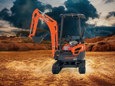 Kubota U17 Excavator Special