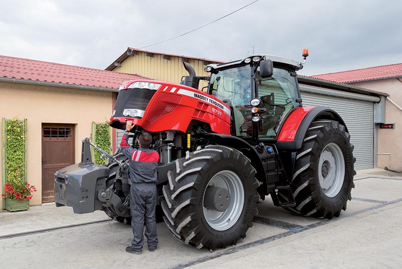 MF8700 Series Tractor