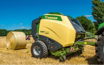 Krone VariPack Plus Belt Baler
