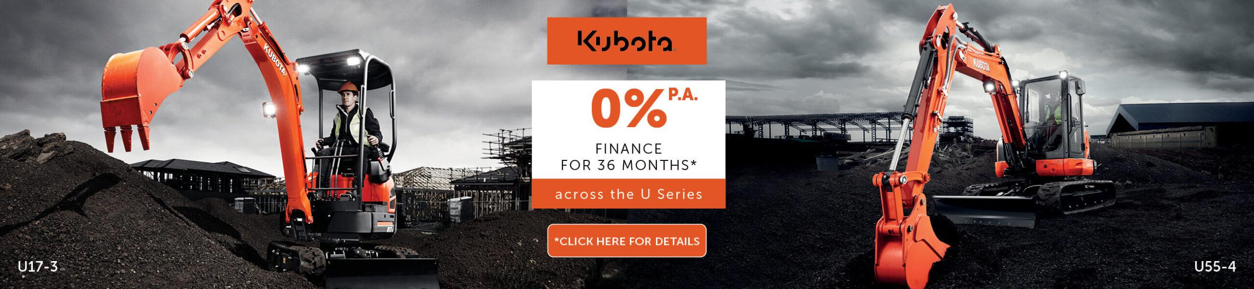 Kubota U Series